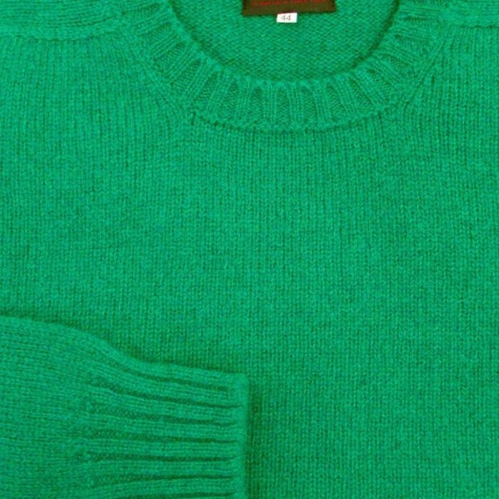 Deans of Scotland sweater green wool sweater pullover sweater