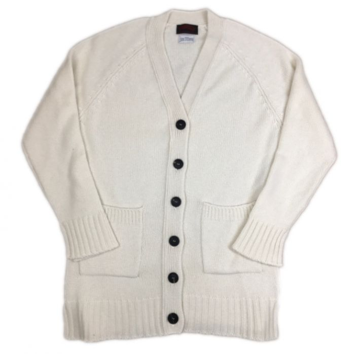 O'Connell's Women's 4 Ply Cashmere Cardigan Ivory